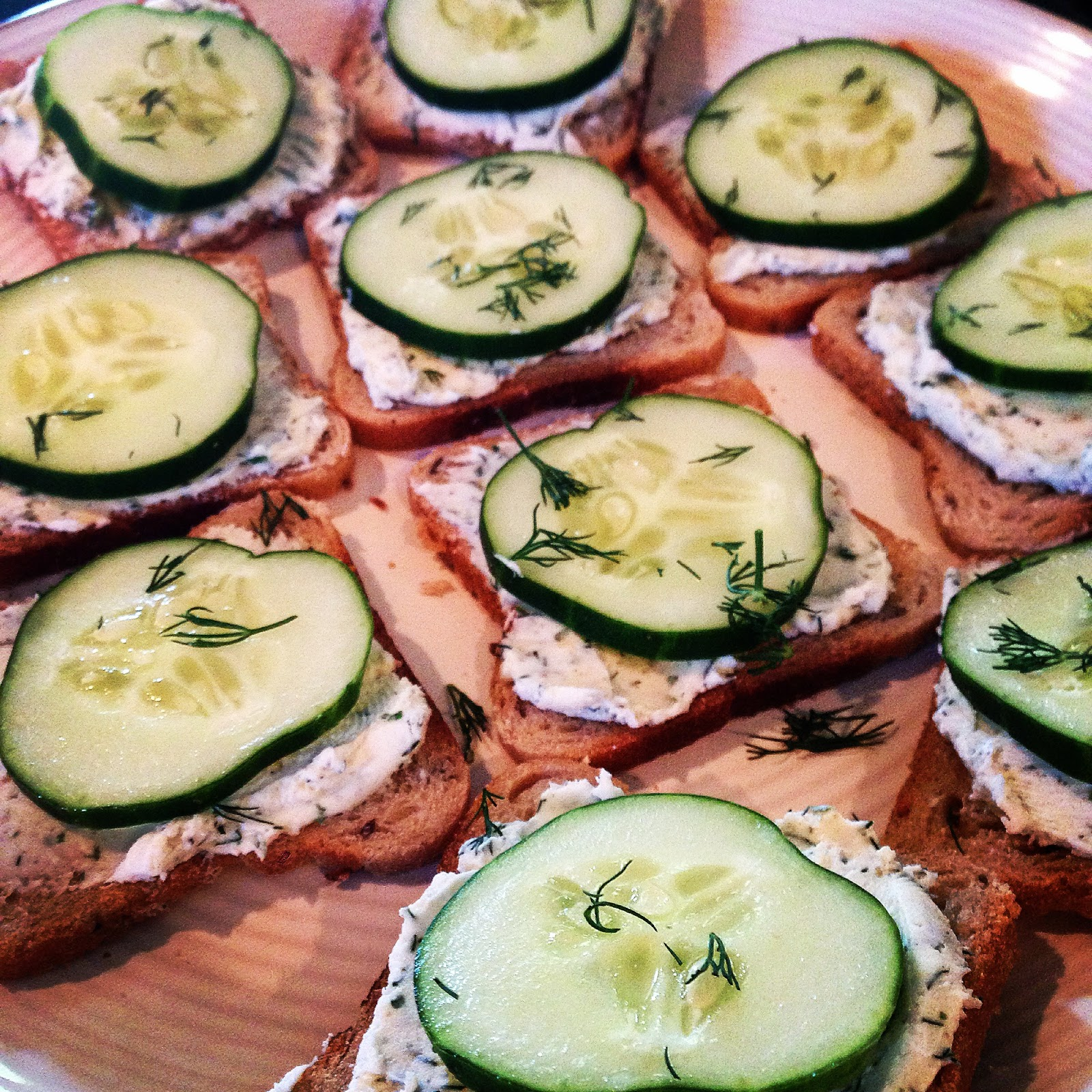 Cucumber Delight; The Perfect Lake Snack!!!