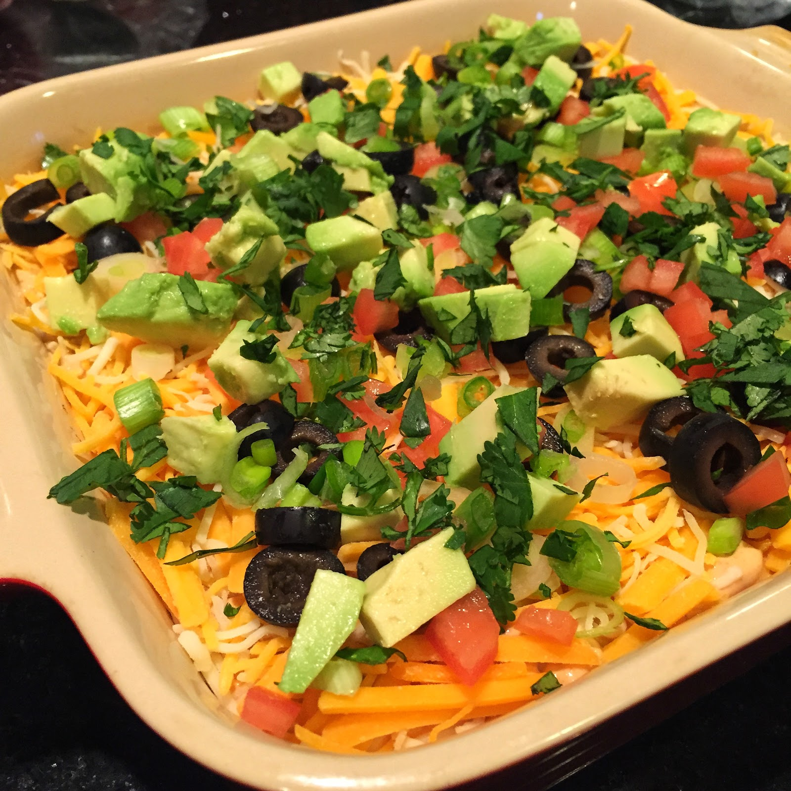 7 Layer Chip Dip…Great Football Food