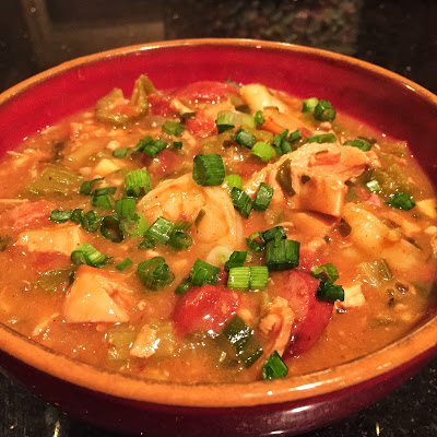 Gumbo….The Perfect Southern Dish On A Snowy Day!!!