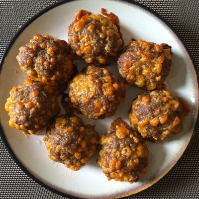 Sausage Balls…Great for Busy Mornings, Football Games, and Movie Watching!!!