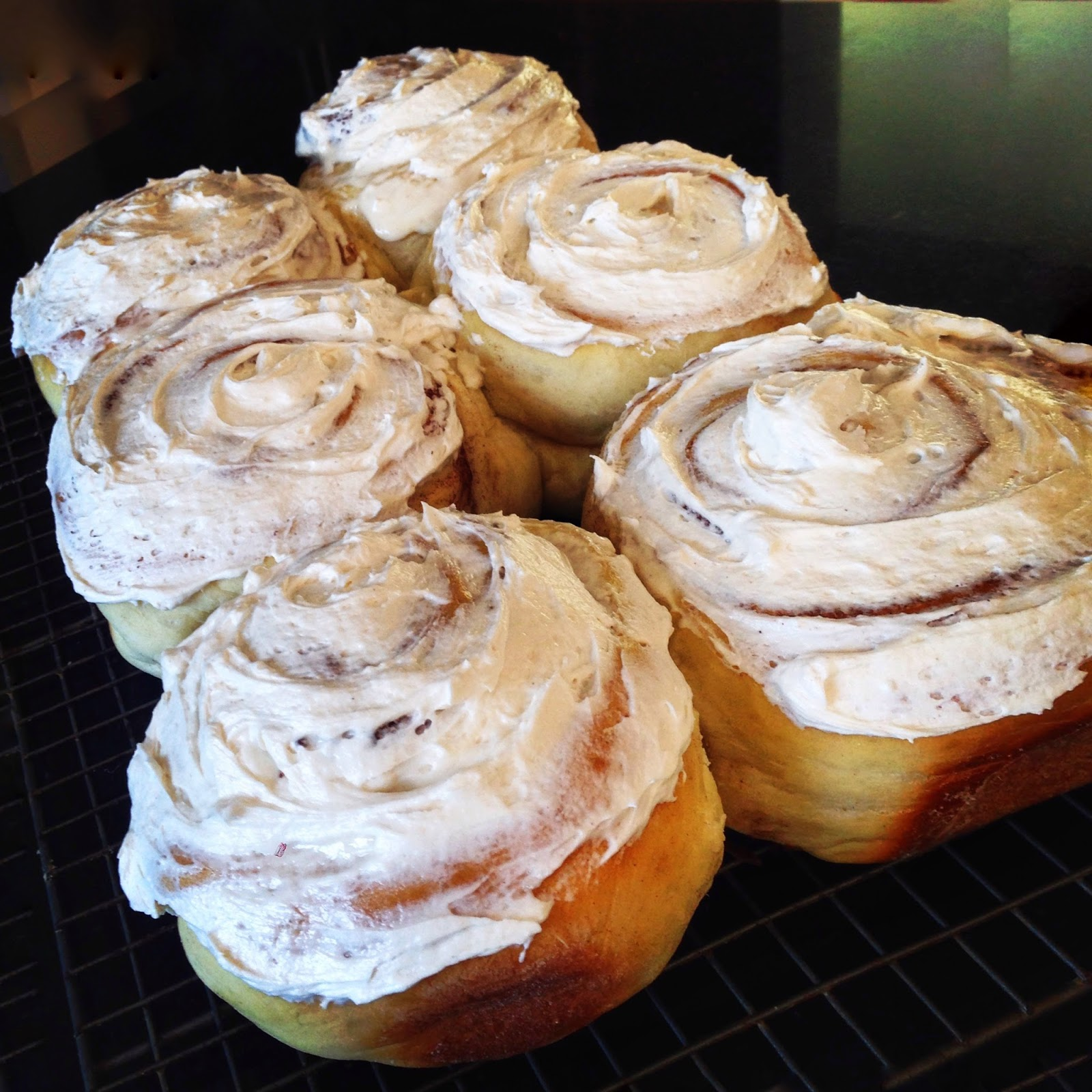 These Aren't Your Average Cinnamon Rolls….