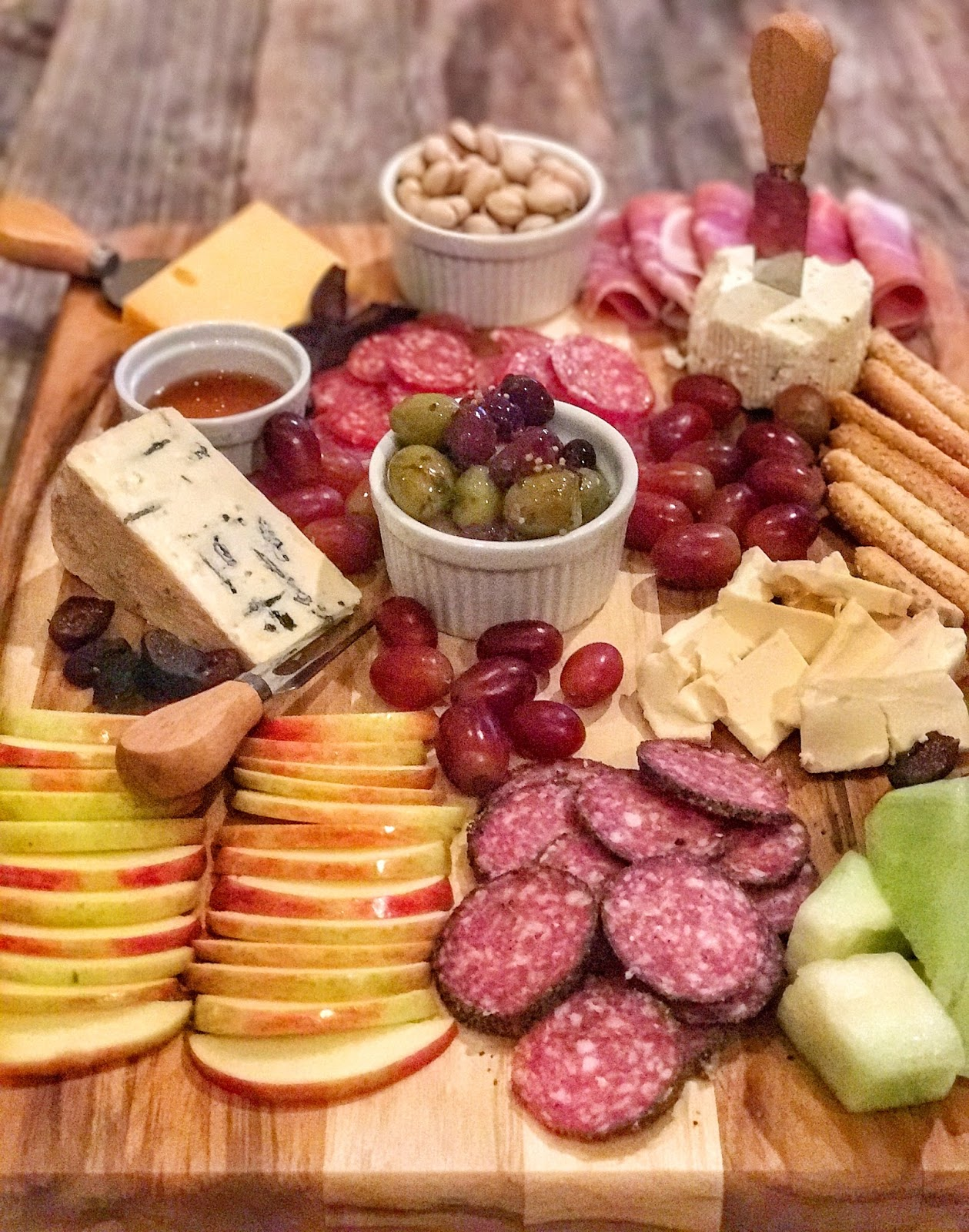 Creating a Masterpiece with a Cheese and Meat Board