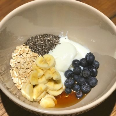 A Healthy No Brainer Breakfast…Overnight Oatmeal!!!