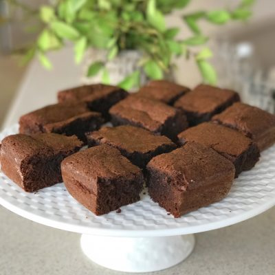 Homemade Chewy Brownies
