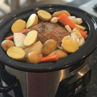 Perfect Crockpot Pot Roast…Perfect for a Busy Day!