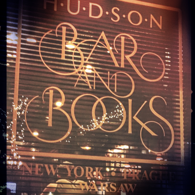 Hudson Bar and Books…Whiskey and Cigar Bar NYC