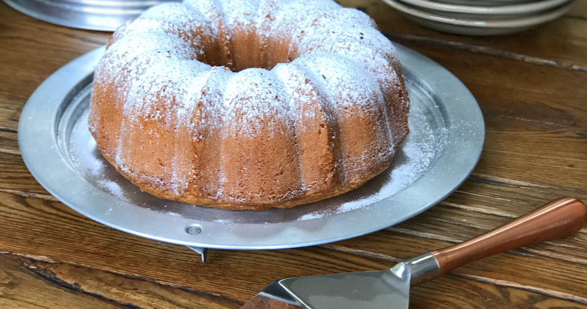Cream Cheese Pound Cake…a Party Without Cake is Just a Meeting!