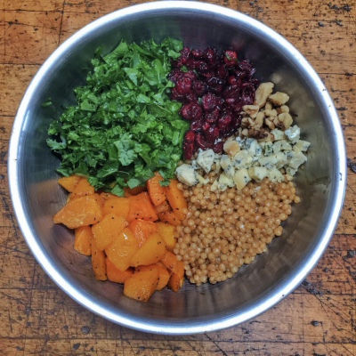 Healthy Couscous Bowl…Reminds Me of Fall!