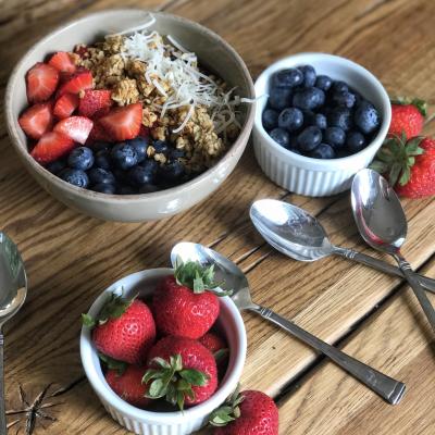 Acai Playa Bowl…Gluten Free and Dairy Free