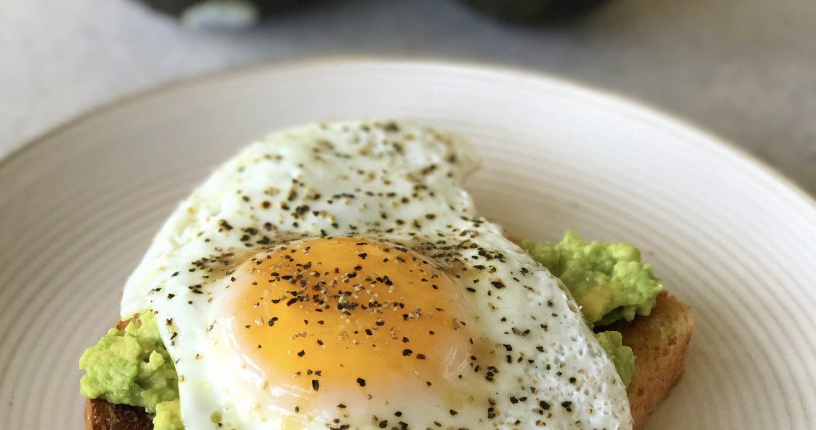 Avocado and Egg Toast…Start Your Morning Out Right!