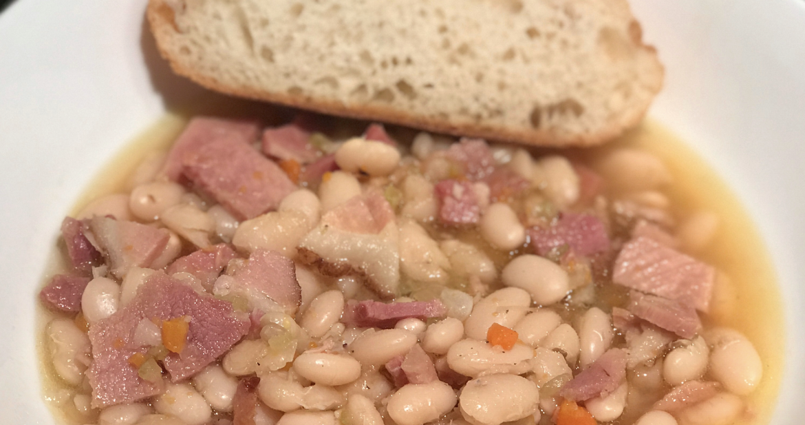 Ham and Bean Soup!