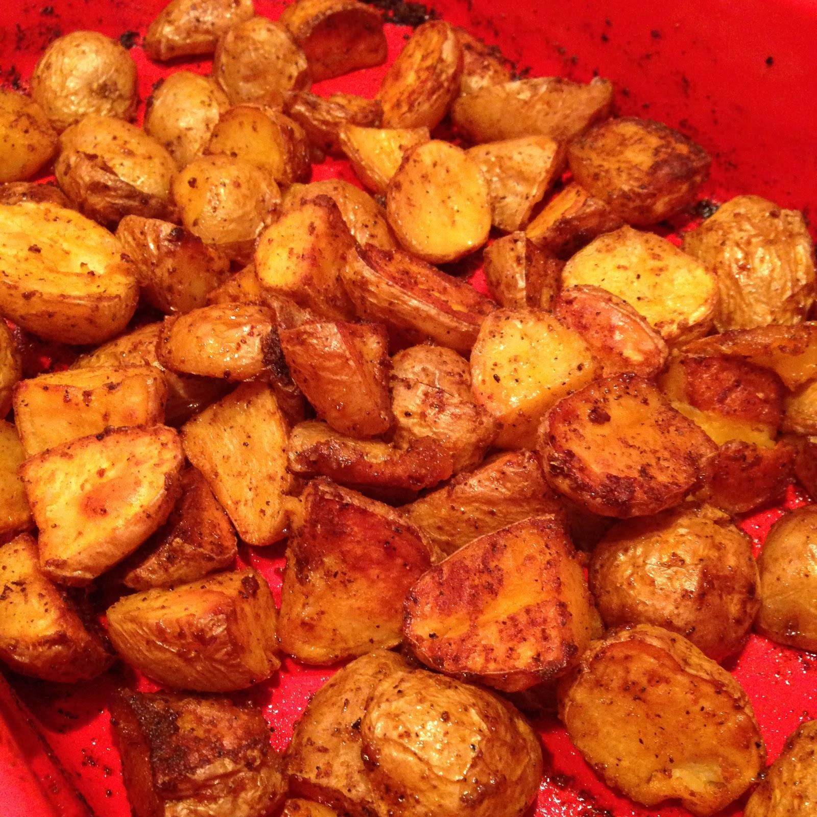 Paprika Roasted Potatoes