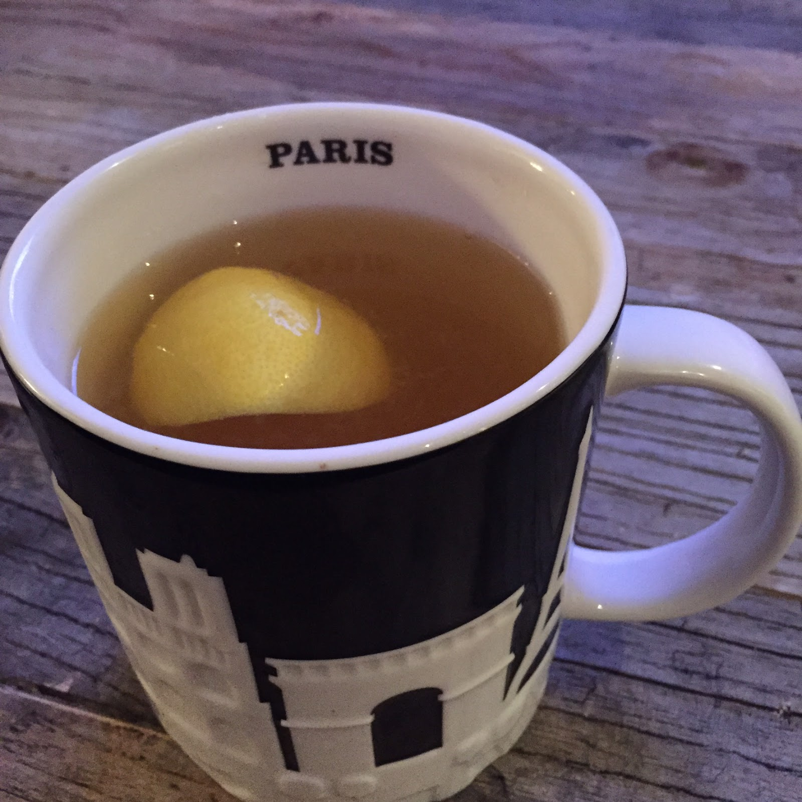 Caffeine Free Winter Warm Drink….Warm Cup of Lemon and Honey