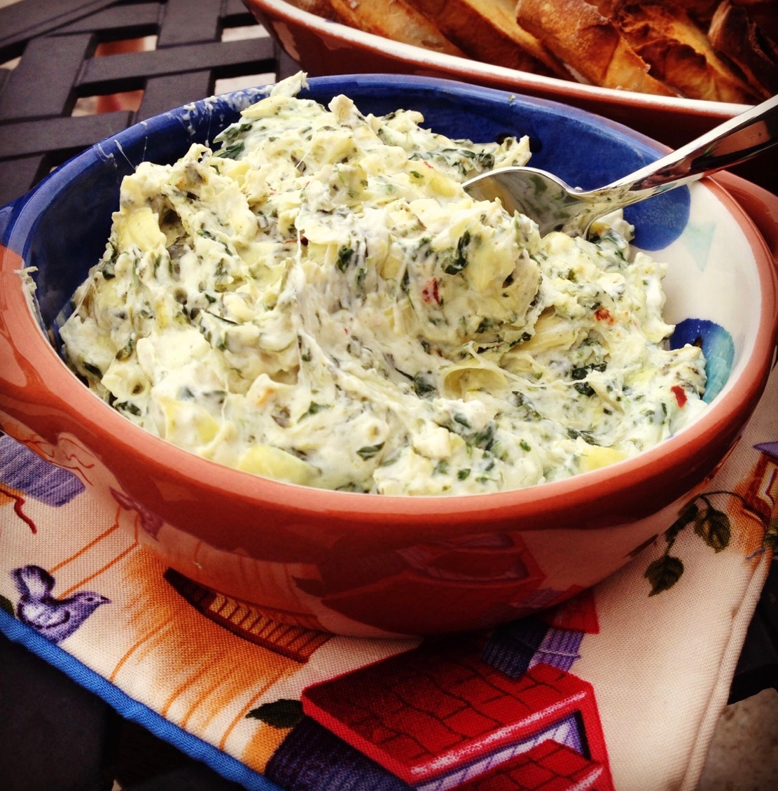 My Head Says Gym but my Heart Says Spinach Artichoke Dip!!!