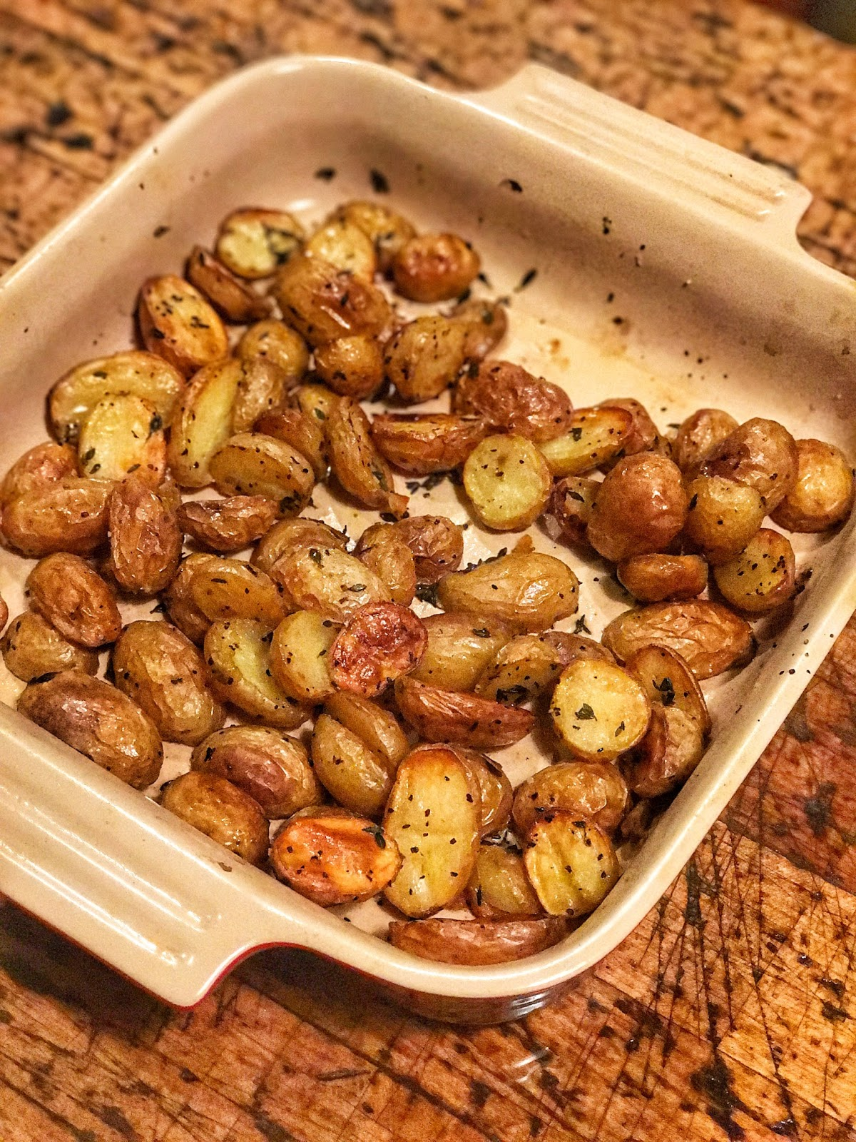 Oven Roasted Potatoes…Easy and Affordable Side Dish!