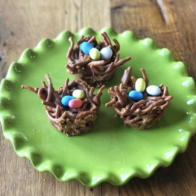 Chocolate Bird Nests…Perfect for Spring and Easter!