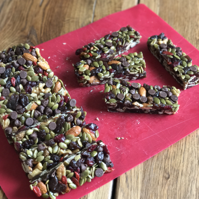 Breakfast and Snack Prep…High Antioxidant Granola Bars