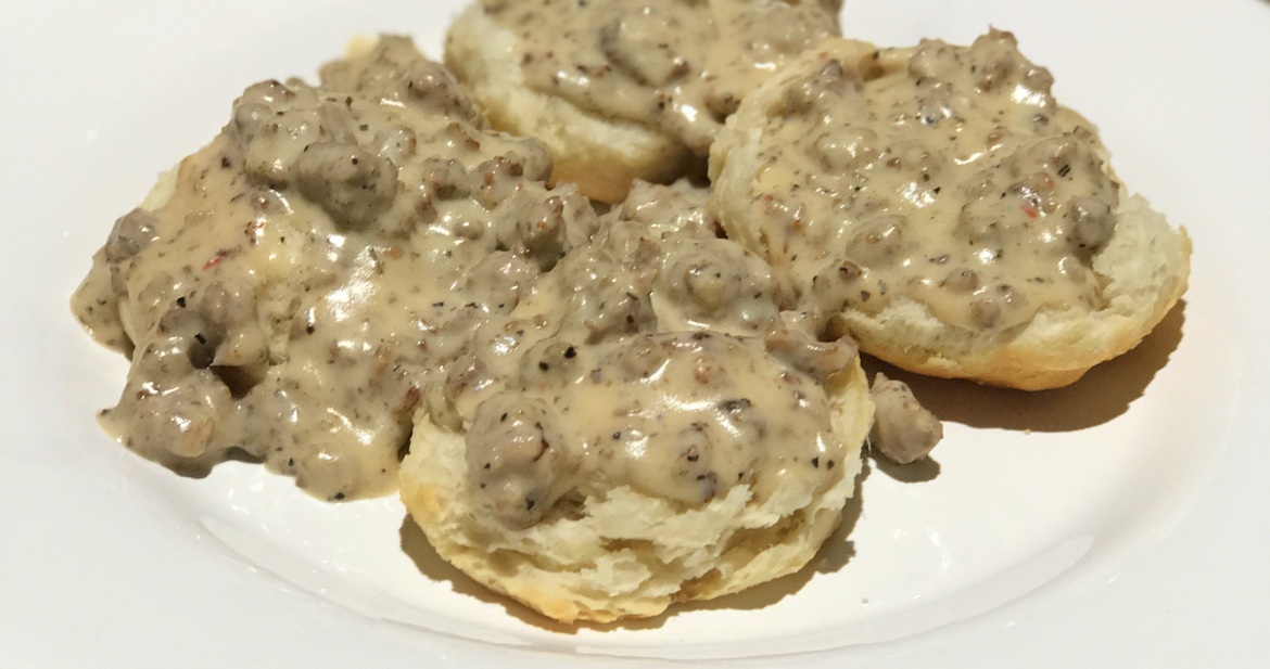 Good Ole Biscuits and Gravy!!!