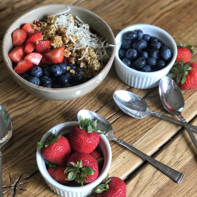 Acai Playa Bowl…Gluten Free and Dairy Free