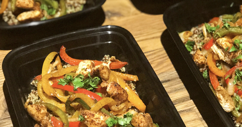 Meal Prep…Cilantro Lime Quinoa Fajita Bowls!