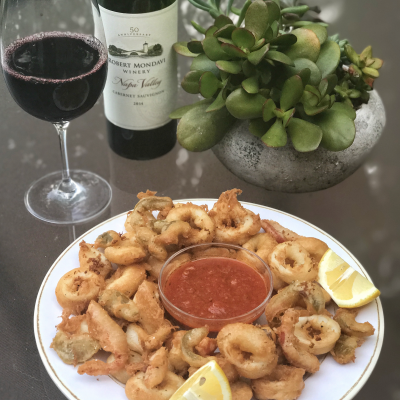 Fried Calamari…It's Easier Than You Think!!!