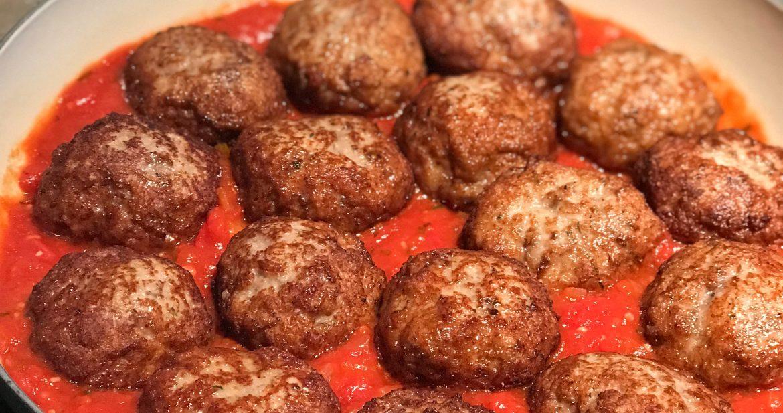 Meatballs…The Secret Ingredient is Always Cheese!